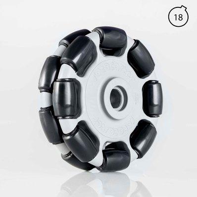 R2 Omnia 125 mm (du/trys/keturi ratukai)